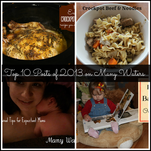 Many Waters Top 10 Posts of 2013