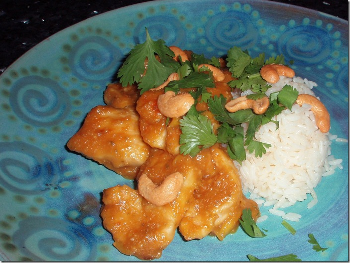 Mango Thai Chicken