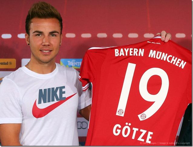 Mario Götze FC Bayern Munich interview season 2013 2014