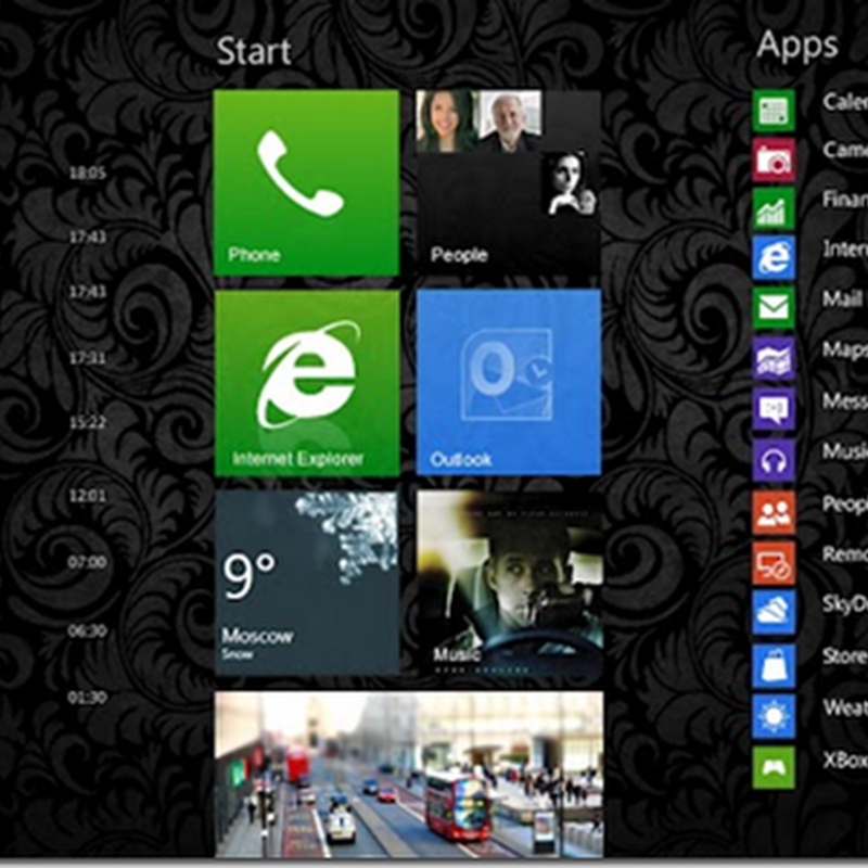 Concepto de diseño para un Windows Phone mas atractivo