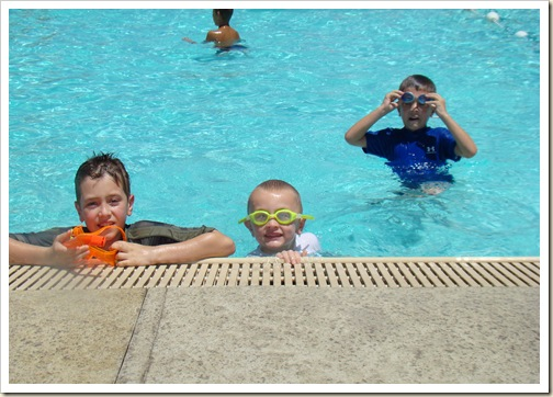 2011 Summer swimming