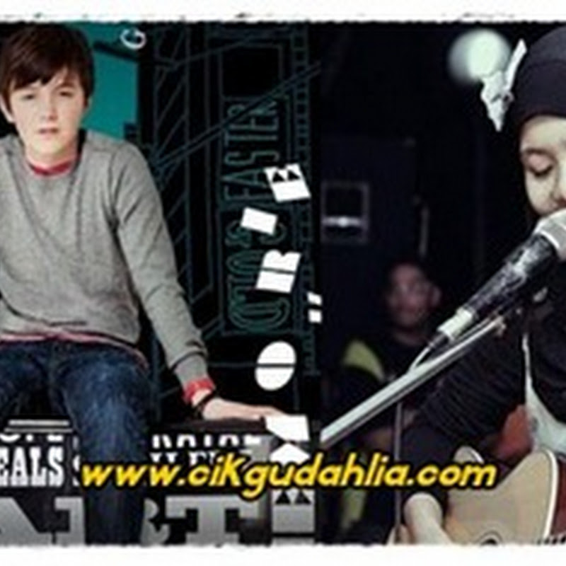 video persembahan greyson chance feat najwa latif aim 18 – waiting outside the lines dan paparazzi
