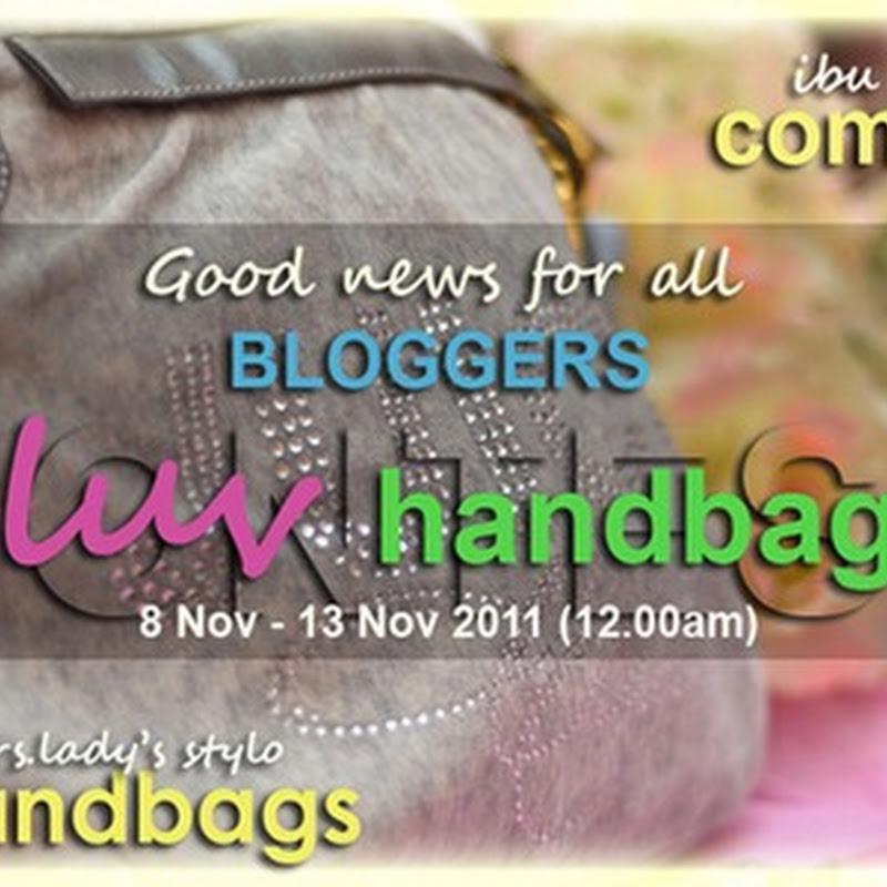 I Luv Handbags CONTEST