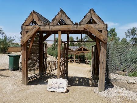 Locul botezului lui Isus Hristos: Poarta spre Iordan