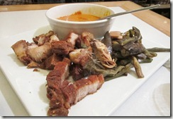 crispy pork kare-kare, 240baon