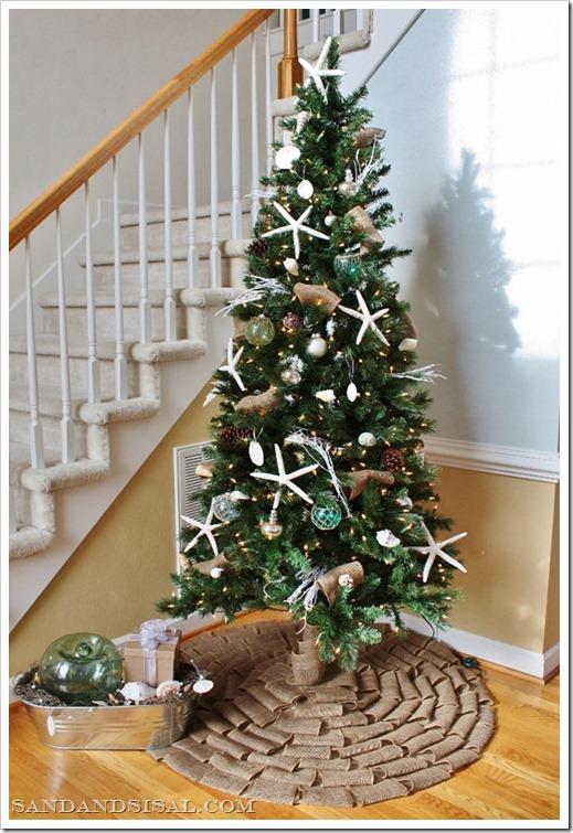 Coastal Christmas Tree - Coastal Christmas Tree - Sand And Sisal