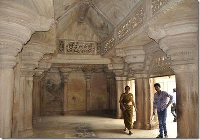 gwalior 047 palais Man Singh salle intérieur