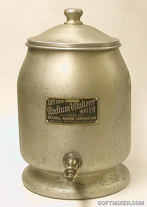 прибор для того, чтобы делать обычную воду радиоактивной