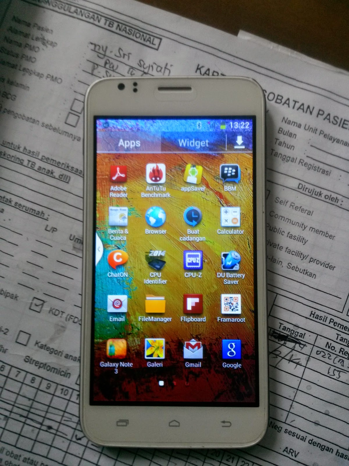 ROOT ANDROID EVERCOSS A26B ALA NOTE 3 SURABAYA