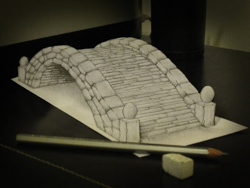 Anamorphic 3D Illusion Drawings by Alessandro Diddi | Amusing Planet