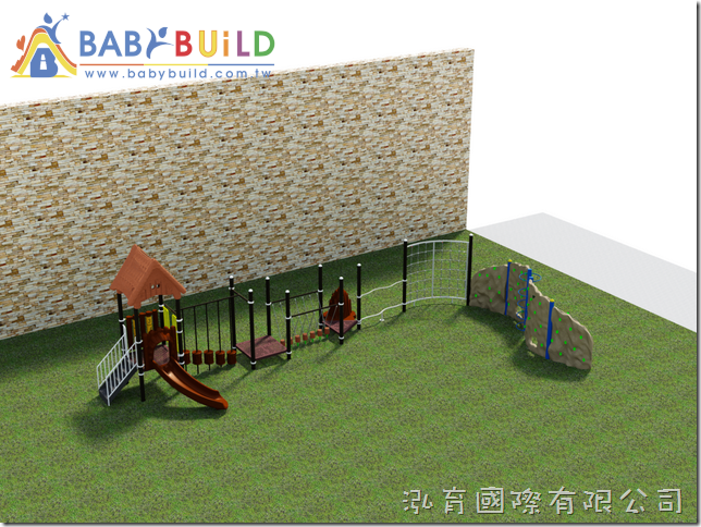 BabyBuild 戶外兒童體能遊戲場