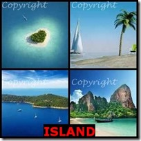 ISLAND- 4 Pics 1 Word Answers 3 Letters