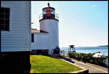 04d - Bass Harbor Rt 102 -Bass Harbor Head Lighthouse