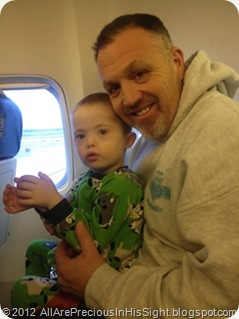Cooper and Conner travel HOME Kiev to Austin 1668