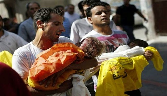 dead gazan children
