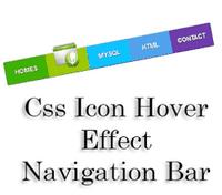CSS-icon-hover-menu