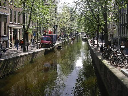 Canale Cartierul Rosu din Amsterdam