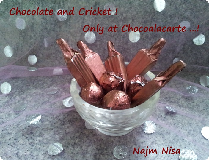 IPL chocolate treat!
