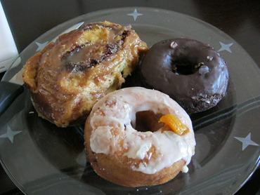 3 delicious donuts