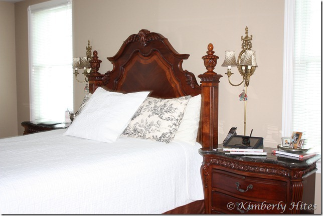 Wall Sconces Next To Bed : Kim Hites French Country Antiques Interiors: February 2012