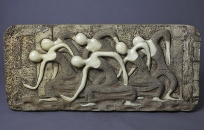 Finesse Originals dancers wall sculpture