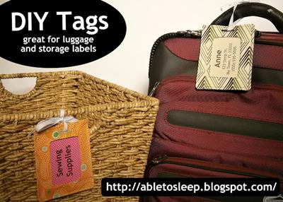 Etiqueta para a bagagem