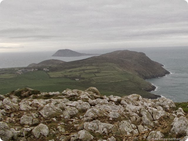 bardsey from mynydd anelog