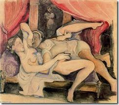 Balthus - Lucrecia y Tarquino