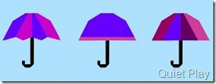 Three brollies