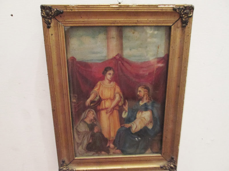 Religious Antique  Painting