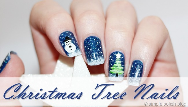 Nail-Art-Christmas-Tree-1
