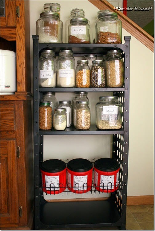 industrial open pantry