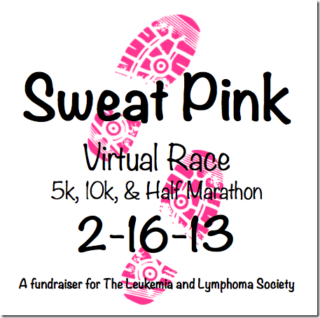 Sweat Pink Virtual Run Updated