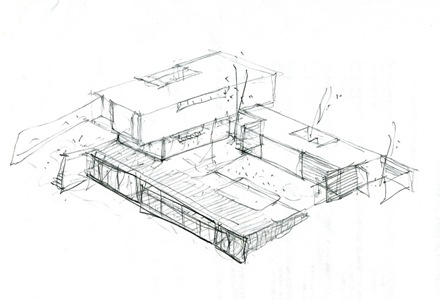 croquis-casa-ramas-fh2l-arquitectos-madrid