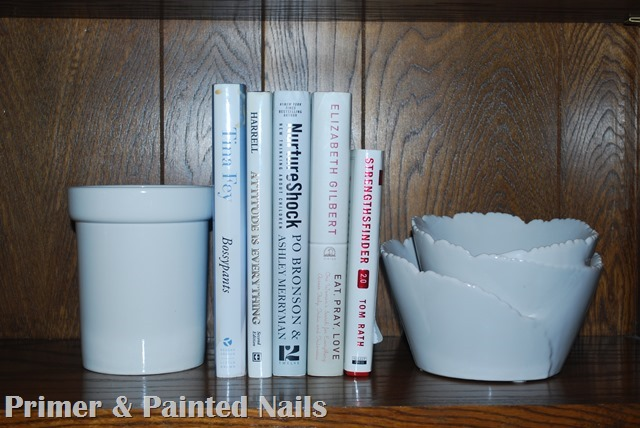 Shelf Accessories - Primer & Painted Nails