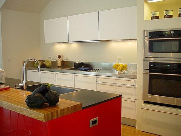 cocina con un estilo bastante moderno
