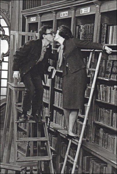 woody allen beijo na livraria
