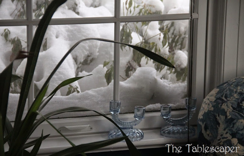 The Tablescaper snow day13