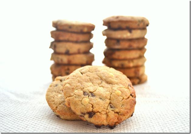 biscotti di farro al doppio cioccolato