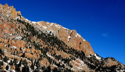 Pikes Peak granite at its finest.