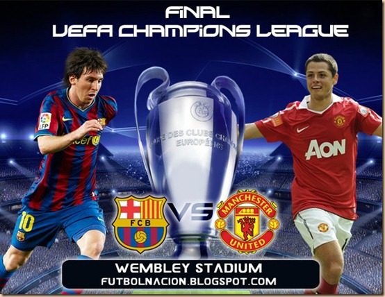 barcelona vs machester final champions 2011