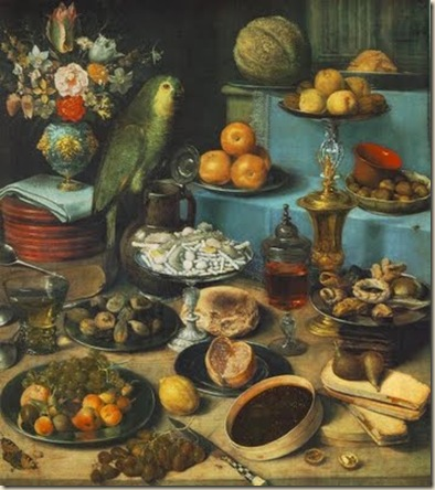 Georg Flegel, Nature morte
