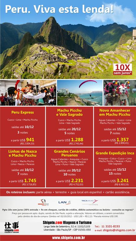 Peru. Viva esta lenda!