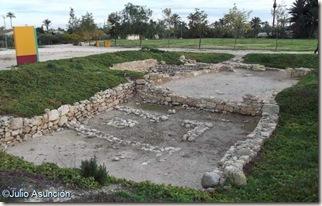 Templo del culto a las cabezas cortadas - Yacimiento de la Alcudia - Elche