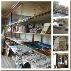 General store collage