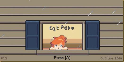 Cat Poke タイトル