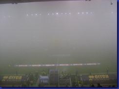 nebbia sul Tardini