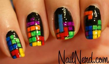 tetris-nail-art