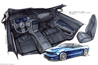 2013 Mustang Convertible, 3.7L V6, Six-Speed Manual Transmission - Built by Stitchcraft