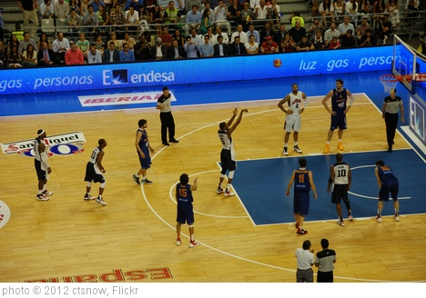 'Spain-USA basketball exhibition in Barcelona' photo (c) 2012, ctsnow - license: http://creativecommons.org/licenses/by/2.0/
